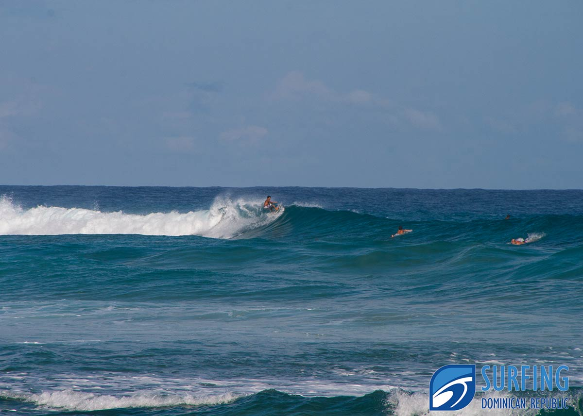 surfing dominican republic surf spot map guide for dr surf spots